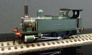 4S-018-007 B4 0-4-0T  Guernsey Lined Dark Green